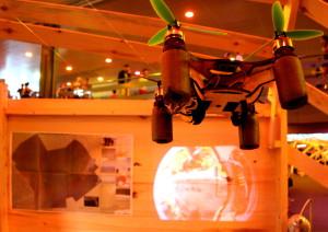 Flone i el projector